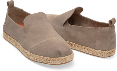 Desert Taupe Suede Women's Deconstructed Classics