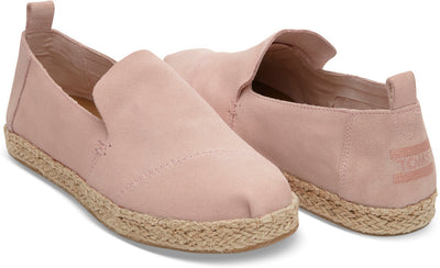 Pale Pink Suede Women's Deconstructed Classics