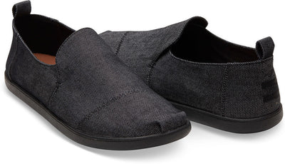 Black On Black Denim Men's Deconstructed Classics