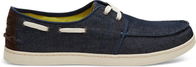 Navy Denim Men's Culver Lace-Ups