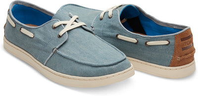 Slate Blue Denim Men's Culver Lace-Ups