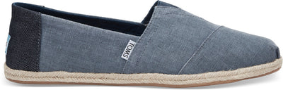Deep Ocean Coated Linen Rope Sole Men's Classics