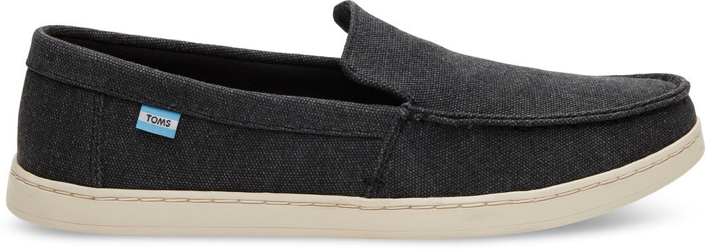 17246bf1f0 Black Washed Canvas Men's Aiden Slip-Ons