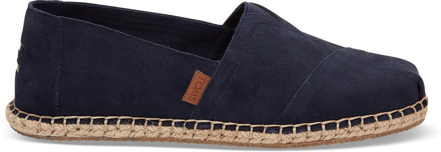 3cf777c626c Navy Suede Blanket Stitch Men s Classics