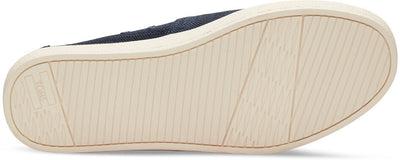Navy Slubby Linen Men's Avalon Slip-Ons