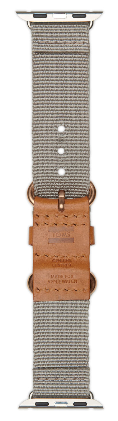 Toms Apple Watch Band 38mm Clay