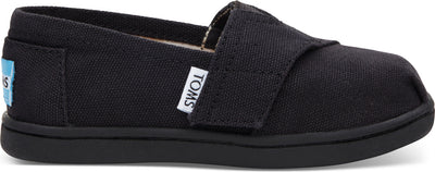 Black Canvas Tiny Alpargata Espadrilles