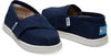 Navy Canvas Tiny Alpargatas