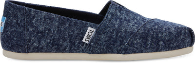 Navy Washed Denim Women's Classics