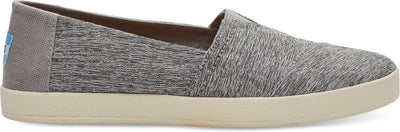 Forged Iron Grey Space Dye Women's Avalon Slip-Ons
