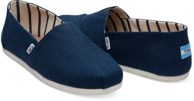 Majolica Blue Heritage Canvas Men's Classics