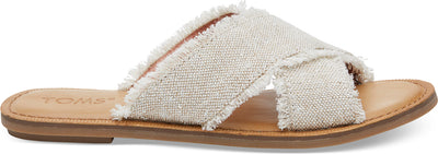Natural Metallic Jute Women's Viv Sandals