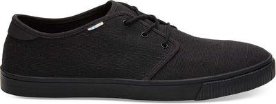 Black/Black Heritage Canvas Mens Carlo Sneaker