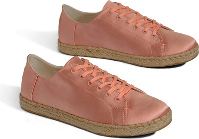 Rose Cloud Satin Women's Lena Sneakers
