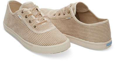 Oxford Tan Corduroy Women's Carmel Sneakers