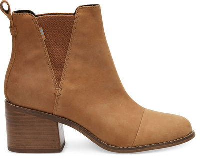 Tan Leather Women's Esme Booties