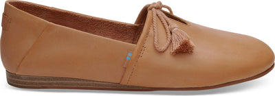 Honey Leather Women's Kelli Flats