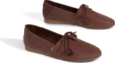 Burnt Henna Leather Women's Kelli Flats