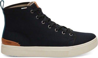 Black Canvas Men'S Trvl Lite High Sneakers