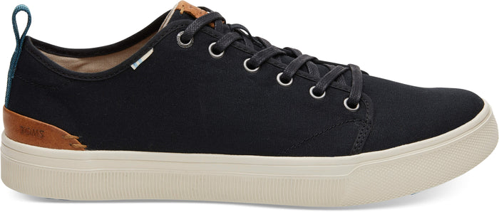 Black Canvas TRVL LITE Low-Top Sneakers