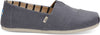 Shade Grey Heritage Canvas Mens Alpargrata