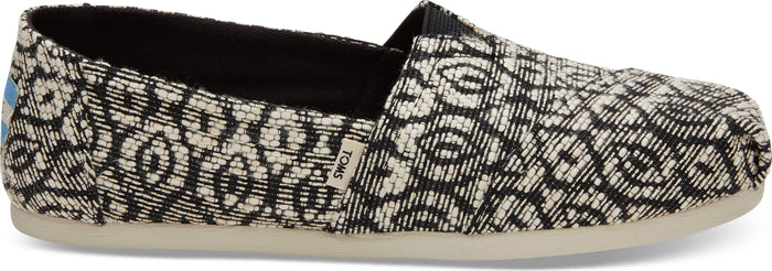 Black Diamond Woven Rope Women's Alpargata
