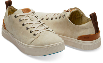 Gravel Suede Men's TRVL LITE Low Sneakers