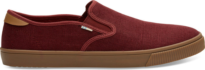 Red Ochre Heritage Canvas Men's Baja Slip-Ons