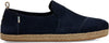 Navy Suede Men's Deconstructed Alpargatas