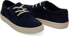 Navy Suede Men's Carlo Sneakers