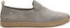 Drizzle Grey Suede Men's Deconstructed Alpargatas