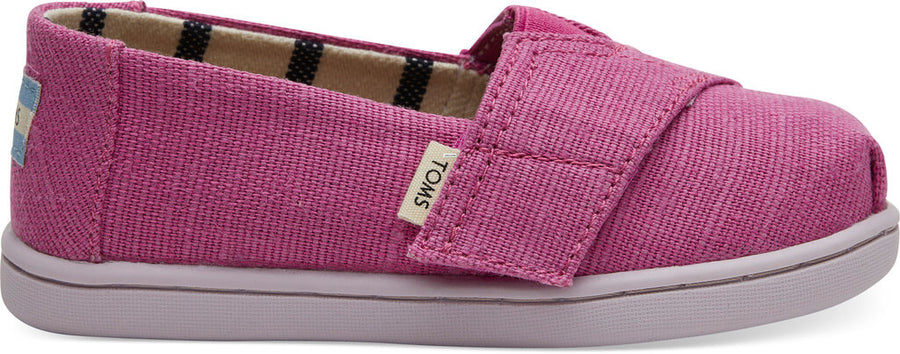 30fc641314c Rose Violet Heritage Canvas Tiny TOMS Classics