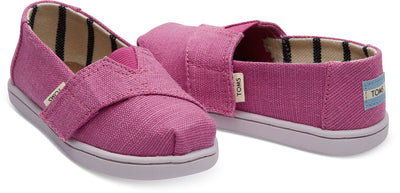 Rose Violet Heritage Canvas Tiny TOMS Classics