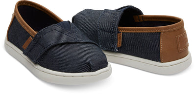 Navy Heavy Denim Tiny Toms Classics
