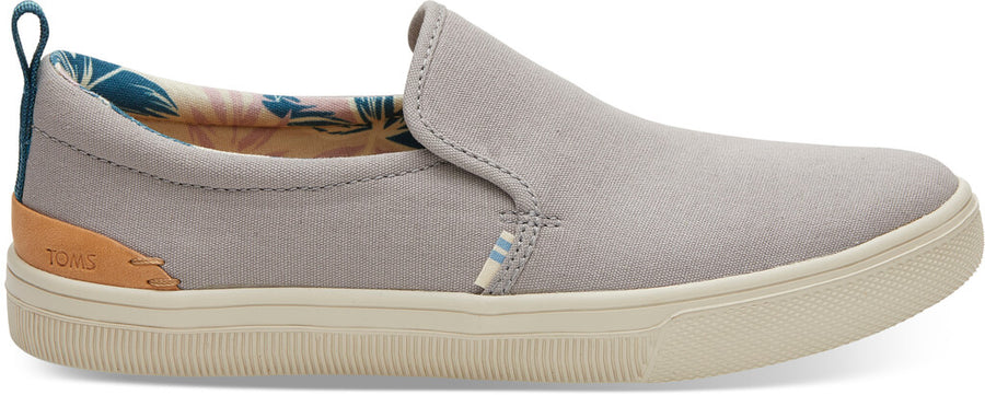 8498bb0c33f Drizzle Grey Canvas TRVL LITE Women s Slip-Ons
