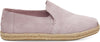Burnished Lilac Suede Women's Deconstructed Alpargatas