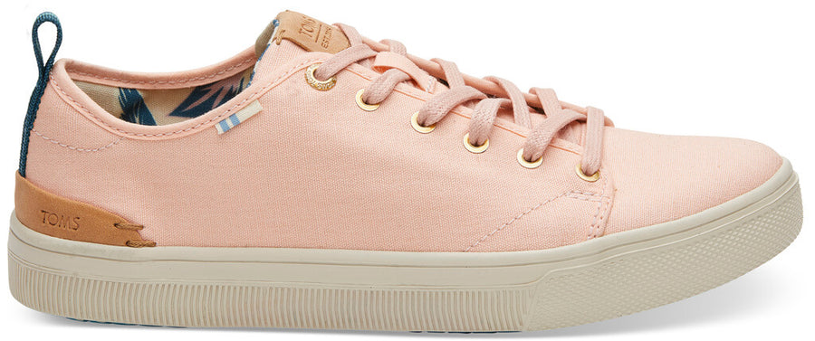 dd3d525a8fe Coral Pink Canvas TRVL LITE Low Women s Sneakers