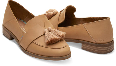 Honey Leather With Tassel Women's Estel Loafers