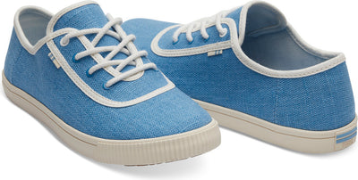 Bliss Blue Heritage Canvas Women's Carmel Sneakers