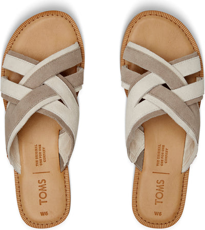 Desert Taupe Suede Women's Val Sandals