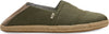 Lichen Green Heritage Canvas Men's Alpargatas