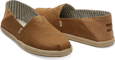 Mustard Heritage Canvas Men's Alpargatas