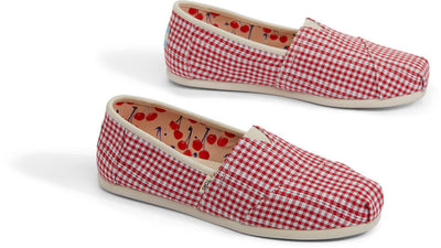 Cherry Tomato Gingham Stripe Women's Classics