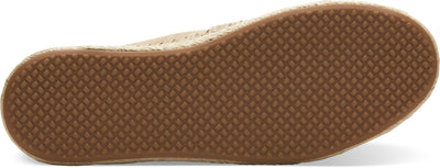 Stone Brown Nubuck Women's Espadrilles