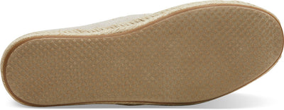 Pearlized Metallic Canvas Women's Espadrilles