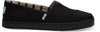 Black On Black Heritage Canvas Women's Cupsole Alpargatas