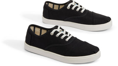 Black Heritage Canvas Women's Cupsole Cordones Sneakers