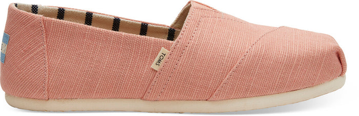 Coral Pink Heritage Canvas Women's Classics