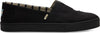 Black On Black Heritage Canvas Men's Cupsole Alpargatas