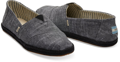 Black Rugged Chambray On Mono Rope Classics